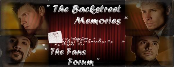 Backstreet Memories