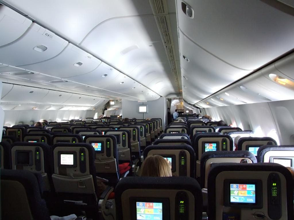 Ces fameux 77w d 39 air france questions for Interieur 777 air france