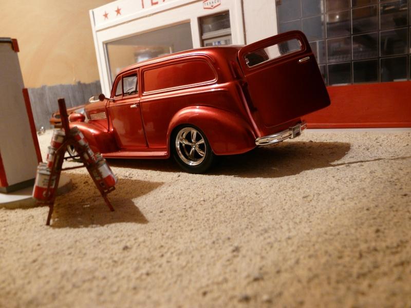Mon premier diorama un garage au milieu du d sert for Garage citroen castres