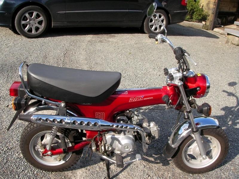 minibike passion des mini4temps honda dax moinkey zb. Black Bedroom Furniture Sets. Home Design Ideas