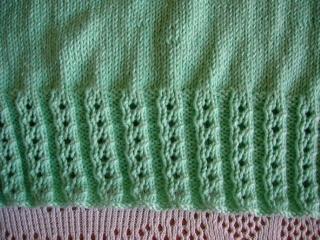 Tricot pour chlo 1 les loisirs d 39 une sablaise - Point de cote tricot ...