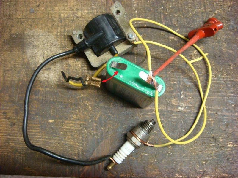 Reparation bobine allumage