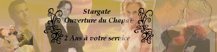 Stargate - ouverture du Chapaï