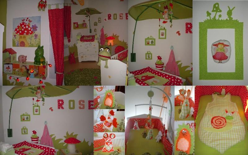 Super La forêt enchantée de ma Rose - Chambre de bébé - FORUM Grossesse  ZJ74