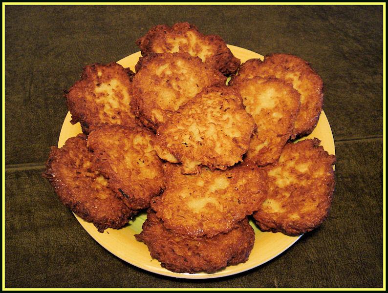 galette de pommes de terre polonaise