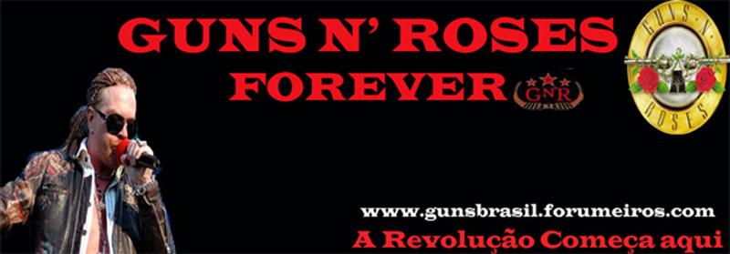 Guns N' Roses - índice do fórum