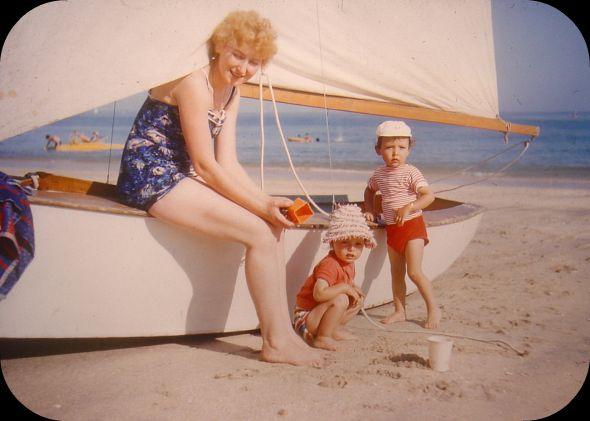 Cap Ferret 1958 dans Le jardin des souvenirs 61067210