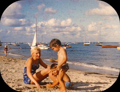 La plage du Cap Ferret - 1959 dans Le jardin des souvenirs 61446110