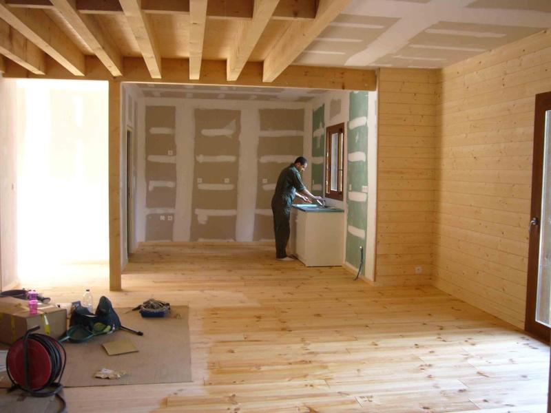 Couleur intérieure pour maison bois