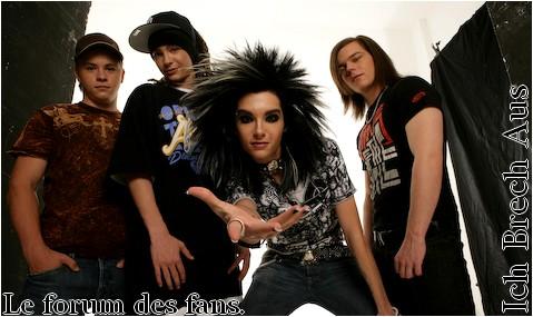 Ich Brech Aus, le forum des fans de Tokio Hotel