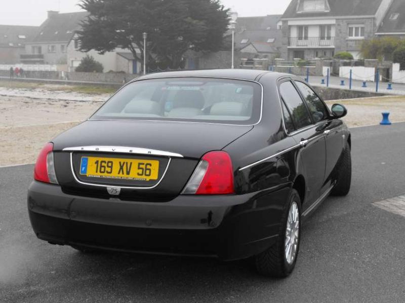 Extérieur - Machine] Rover 75 noir et opel... : Showroom