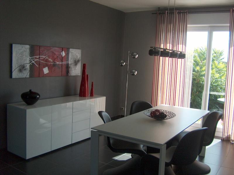 decoration au dessus d un bahut. Black Bedroom Furniture Sets. Home Design Ideas