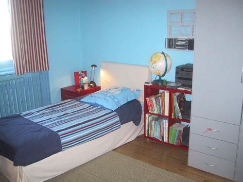 Peinture Chambre Bleu Et Gris Amazing Couleur Chambre Peinture