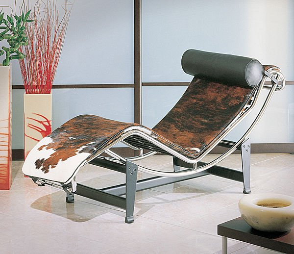 Chaise longue by le corbusier - Chaise longue interieur ...