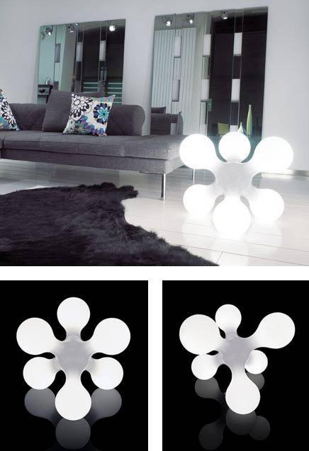 lampe sol atomium lampe by buro fur form