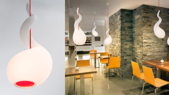 Lampe design alien - Lampe suspendu design ...