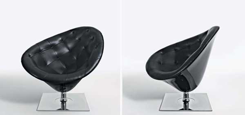 fauteuil design moor e par philippe starck. Black Bedroom Furniture Sets. Home Design Ideas