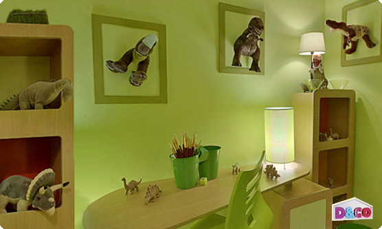 Stickers enfant  stickers muraux dino & chambre enfant  ambiance sticker