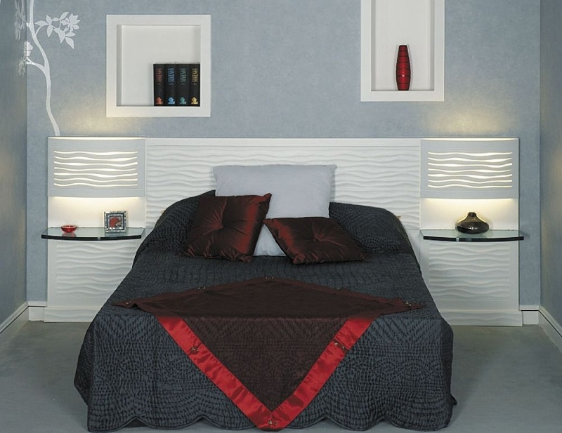 d coration d 39 une petite suite parental avec salle de bain. Black Bedroom Furniture Sets. Home Design Ideas