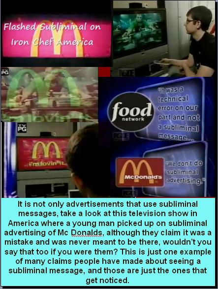 effect of subliminal advertising children Reality or fraud truth behind subliminal the idea of subliminal advertising the coke/pepsi war is a good example of the subliminal effects of modern.
