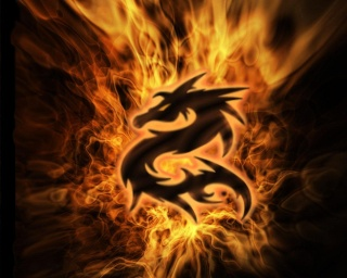 Flaming Dragon