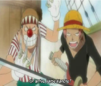 Episode one piece rencontre shanks barbe blanche