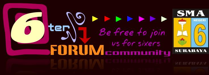 Forum Sixers SMA Negeri 6 Surabaya