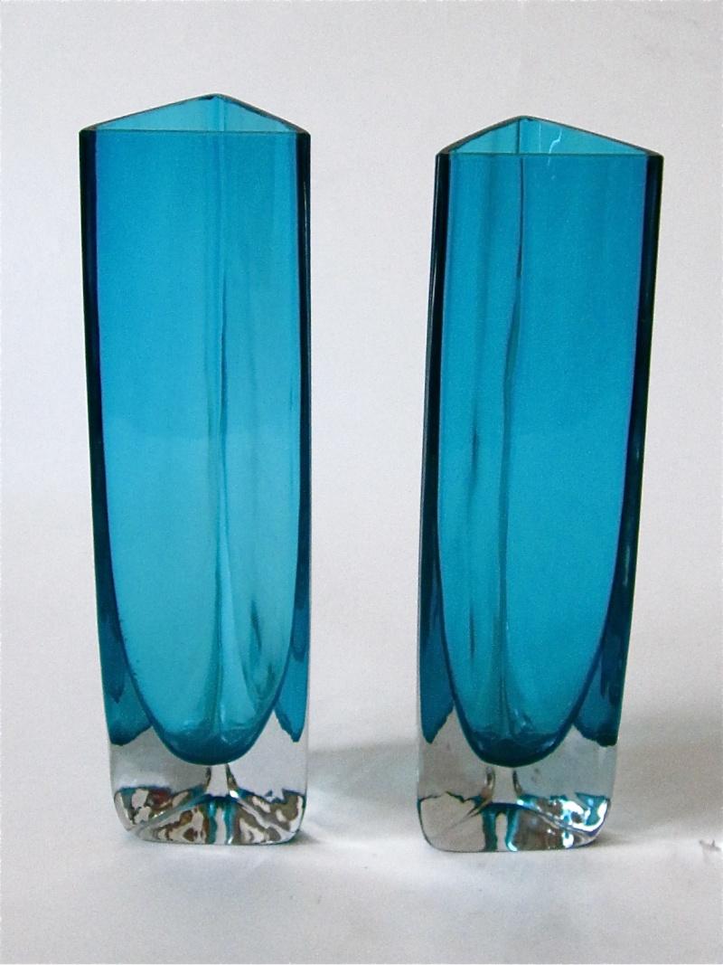 Tall cased teal blue triangular vases id gunnar ander for tall cased teal blue triangular vases id gunnar ander for lindshammar reviewsmspy