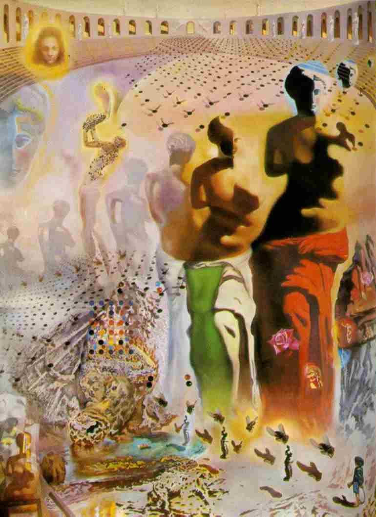 Torero10g corrida questa opera pu essere vista come la pi completa retrospettiva dellintera carriera di dal incorpora elementi della cultura catalana altavistaventures Gallery