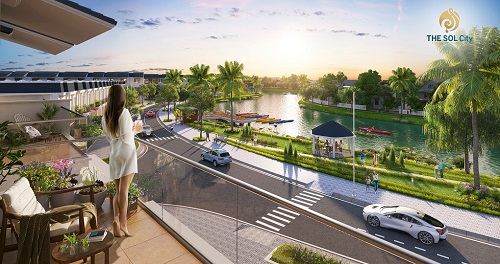 Dự án căn hộ The Sol City với tiện ích đa dạng